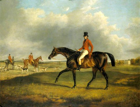 Archibald Montgomerie (1812–1861), 13th Earl of Eglinton, PC, KT, on 'Emerald'