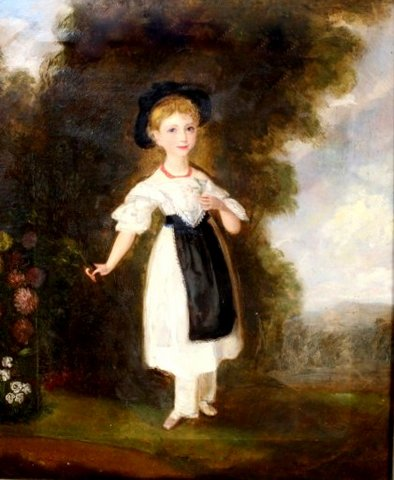 Portrait of Miss Lydia Smith, aged 6