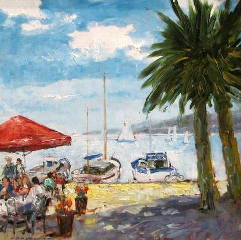 The Little Cafe, Saint Maxime