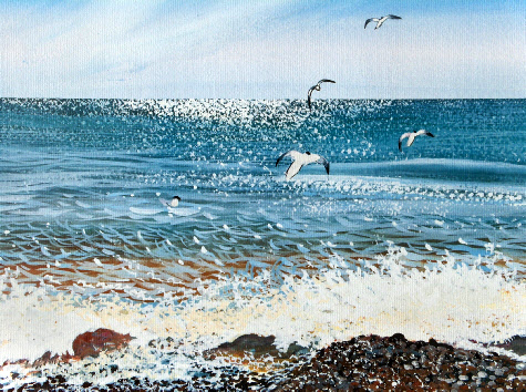 An Incoming Tide, Kessingland 1993
