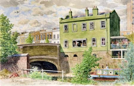 The Narrow Boat Inn, on the Grand Junction Canal, Islington