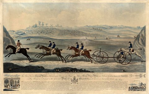 Carriage Match at Newmarket
