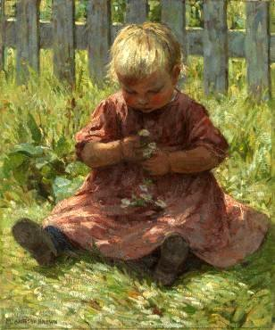 Child with Daisies