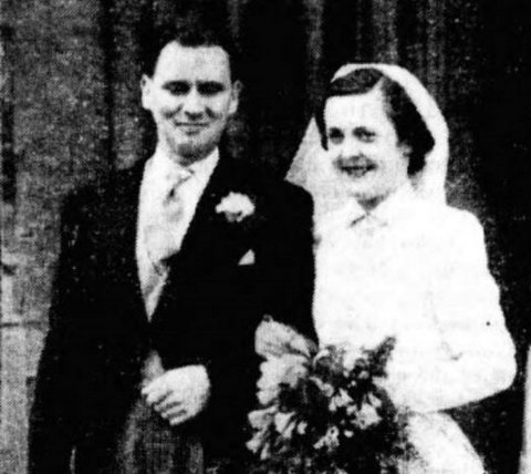Donal Dunne and his wife