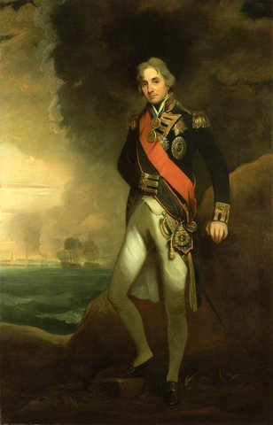 Rear Admiral Sir Horatio Nelson (1758–1805), 1st Viscount Nelson