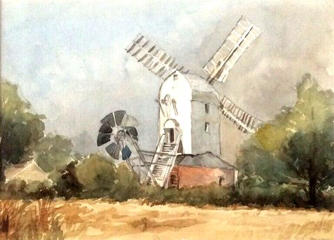 Saxtead Green Windmill, Suffolk