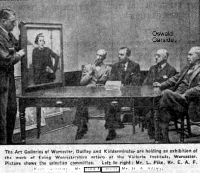 Suffolk Artists - GARSIDE, Oswald