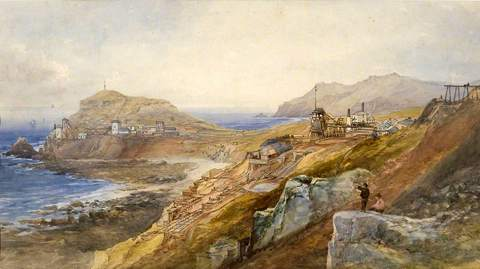 The Mines and Coastline at Cape Cornwall
